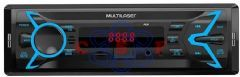 Auto Radio Multilaser Pop BT Bluetooth - MP3 Player Rádio FM USB Micro SD Auxiliar