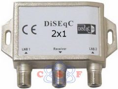 Chave DiSEqC 2x1 Chip SCE