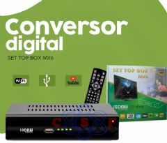 Conversor Set Top Box Digital FULL HD Terrestre e Gravador