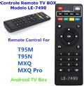 Controle Remoto Receptor Smart Box TV box LE-7490 MXQ PRO MX9 MXQ X96 Mini.